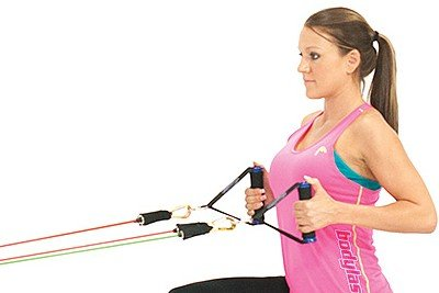 Home Back Workout Elastics