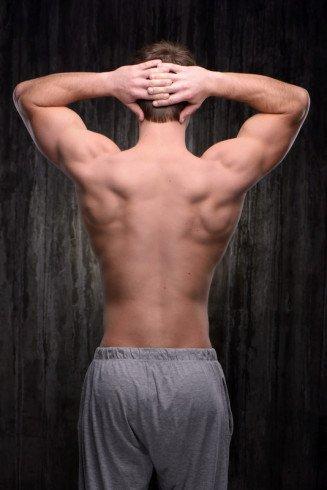 V-shaped Back