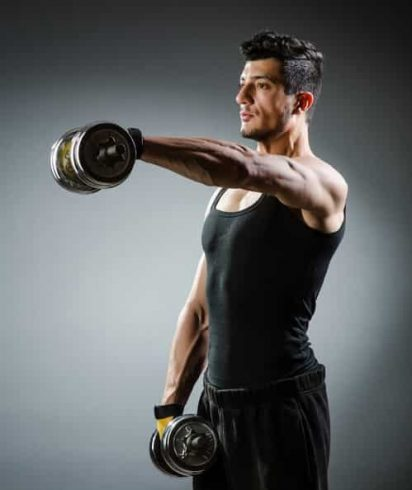 a simple dumbbells at home workout for beginners  a lean life