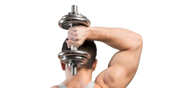Tricep Workout With Dumbbells