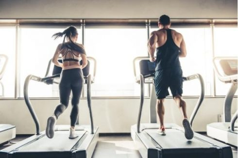 HIIT Cardio at the Gym