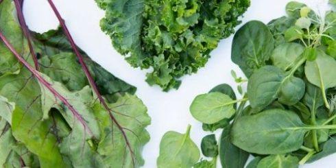 Leafy Greens for Skin Health
