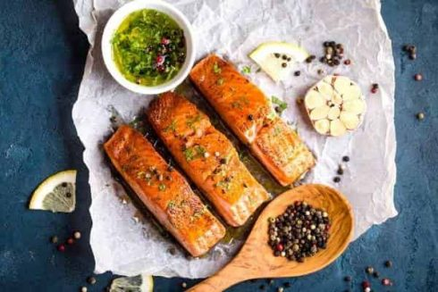 Salmon is a Superfood