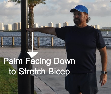 Bicep Stretch Using Anchor