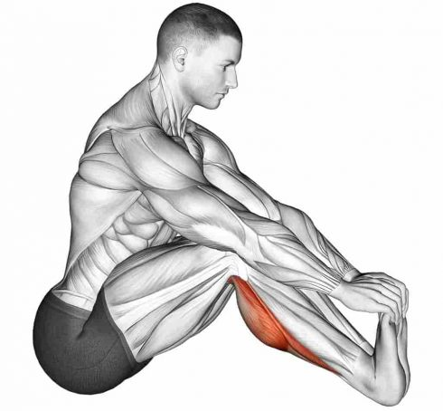 Seated Achilles Heel Stretch