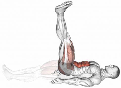 Leg Raises Ab Workout