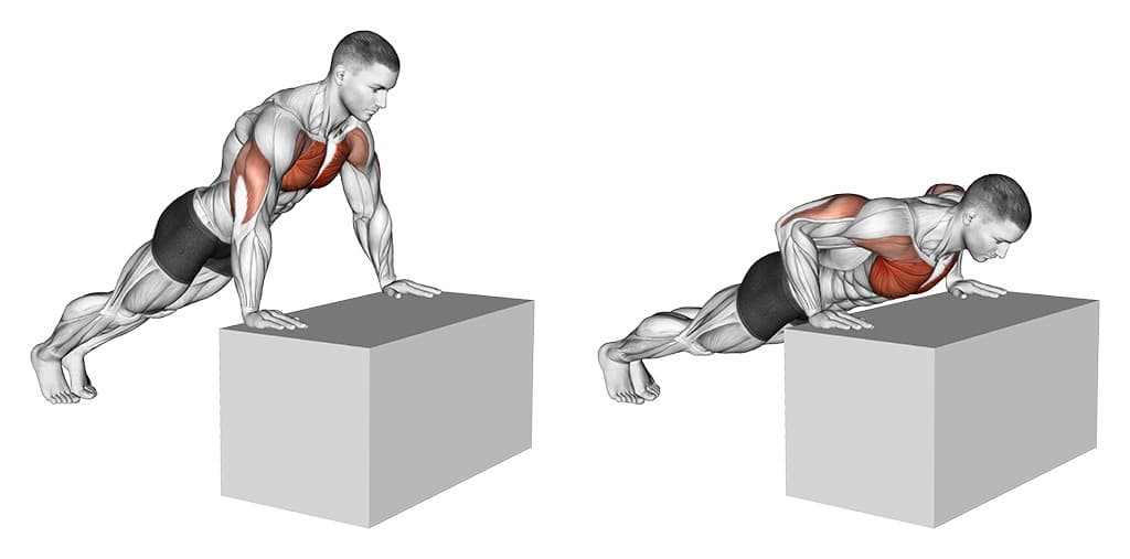 Incline Push Up Form
