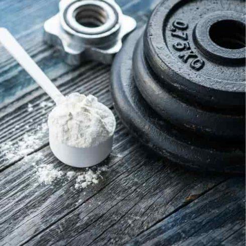 Mixing Protein Powder