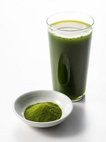 green powder juice